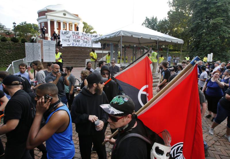 America Protests Antifa