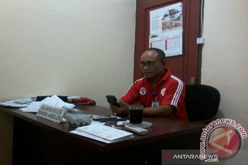 Ketua positif COVID-19, pengurus dan staf KONI Sulteng rapid test