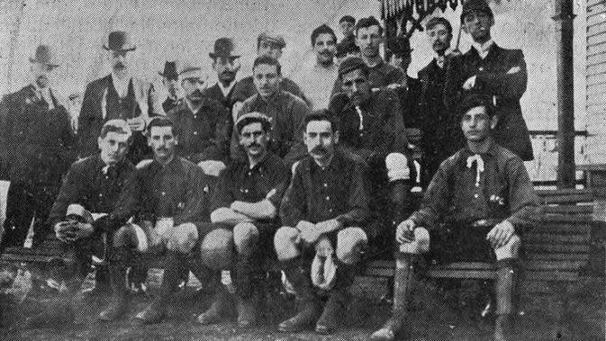 Albion FC, klub tertua Uruguay. (Twitter)