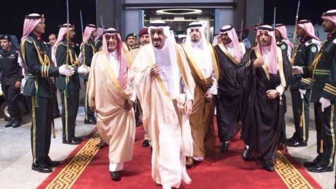 Geger, Bocor Rekaman Konspirasi Gulingkan Kekuasaan Raja Arab Saudi