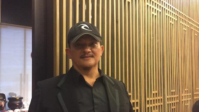 Clift Sangra saat menghadiri gala premier Ratu Ilmu Hitam.