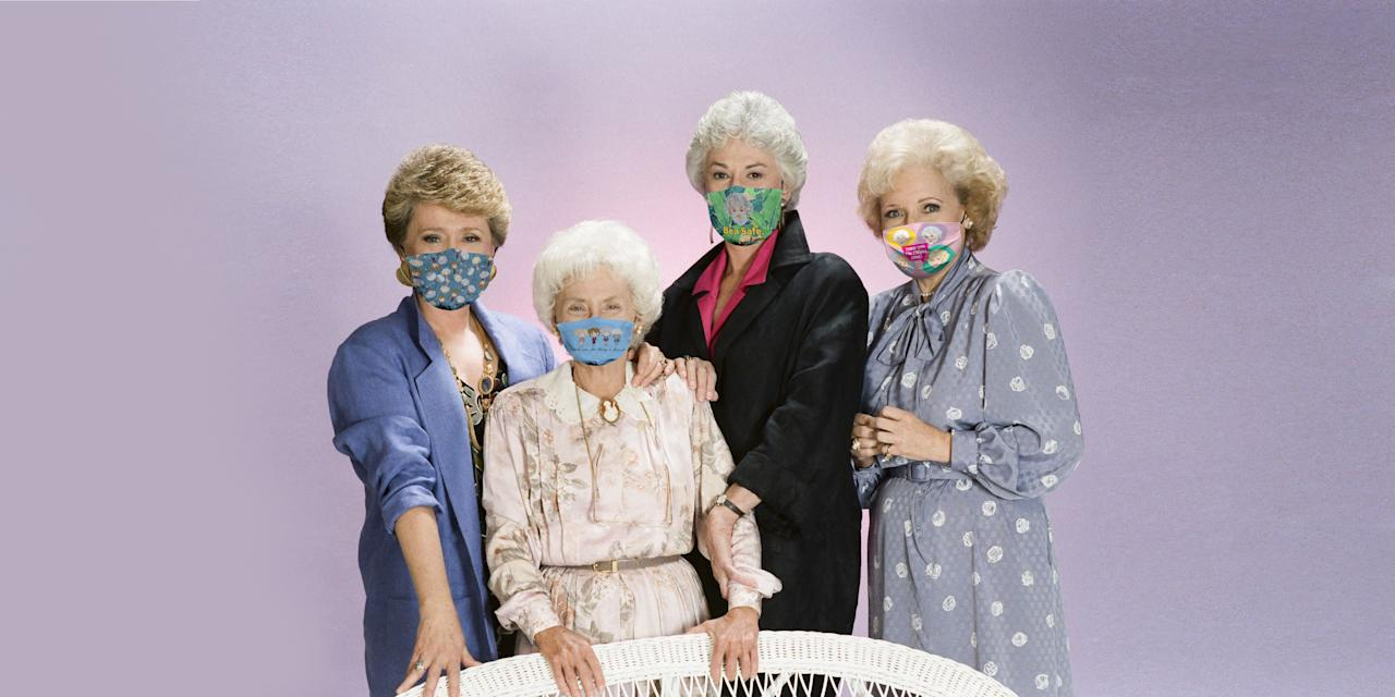 """<p>Bored of your face mask? We feel that. As wearing face coverings in public has become the new norm, it's a good idea to have a couple available just in case you don't have time to adequately clean and disinfect yours (follow our directions<a href=""""https://www.housebeautiful.com/lifestyle/cleaning-tips/a32392735/how-to-clean-cloth-face-masks/""""> here</a>) before your next public outing. As the <a href=""""https://www.cdc.gov/coronavirus/2019-ncov/prevent-getting-sick/diy-cloth-face-coverings.html"""">CDC recommends we continue to wear them</a> to help slow the spread of COVID-19, we might as well have some fun with it. The<em> House Beautiful</em> team has been rocking these <a href=""""https://www.housebeautiful.com/shopping/a32156913/mask-club-covid-masks-charity/"""">Stark and Scalamandré masks</a> created in collaboration with MaskClub. However, after learning about these Golden Girl print masks, we'll definitely be expanding our collections. With so many fun different styles to choose from, let the Golden Girls keep you safe and stylish. Not into these? Here are <a href=""""https://www.housebeautiful.com/shopping/g32428093/where-to-buy-face-masks-online/?"""">18 other places that actually have masks in stock</a>.</p>"""