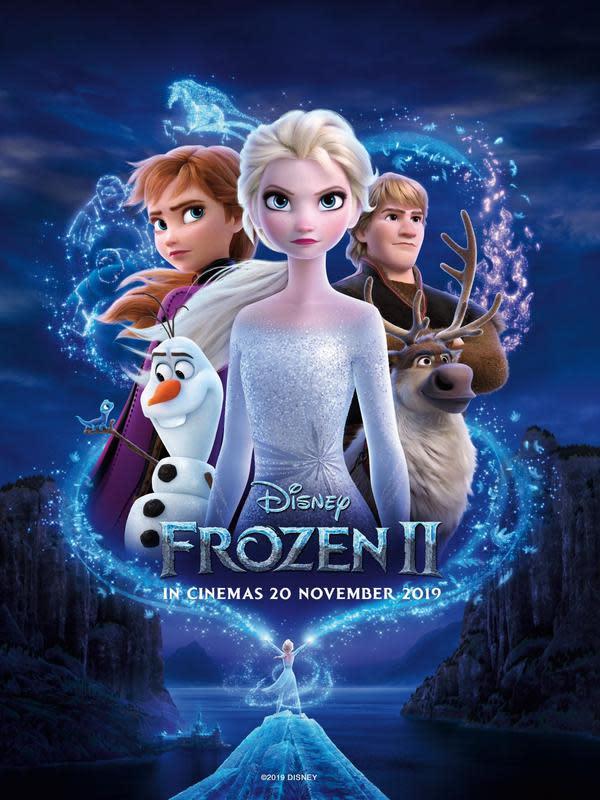 Film Frozen 2 bisa disaksikan di seluruh bioskop Indonesia mulai 20 November 2019 (FOTO: doc.Disney Indonesia)