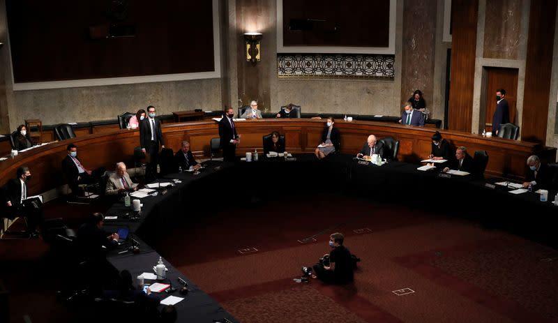 Senate Judiciary Committee meeting on Capitol Hill in Washington