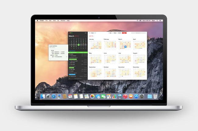 Fantastical 2 Mac App