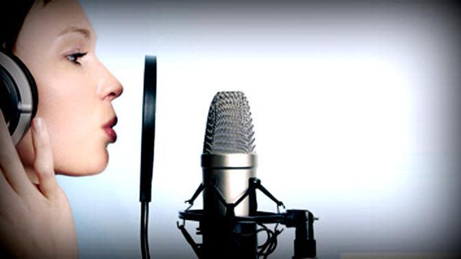 Ilustrasi Penyanyi