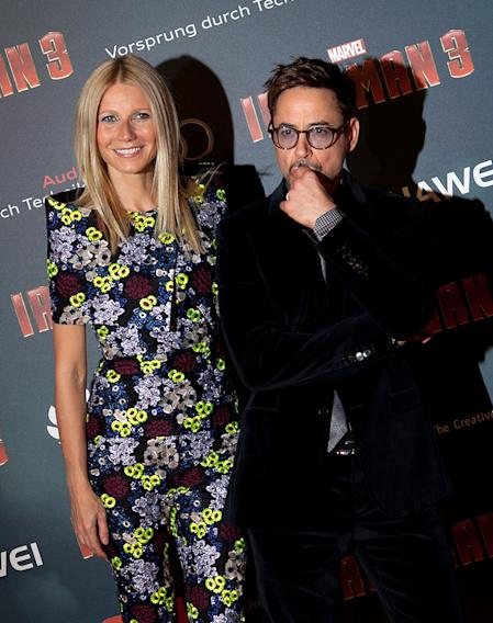 'Iron Man 3' Paris Premiere - Inside Photo Call - At Le Grand Rex