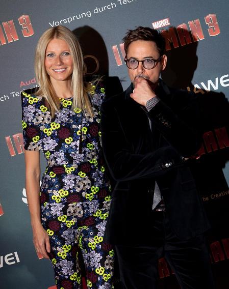 'Iron Man 3' Paris Premiere - Inside Photo Call - At Le Grand Rex