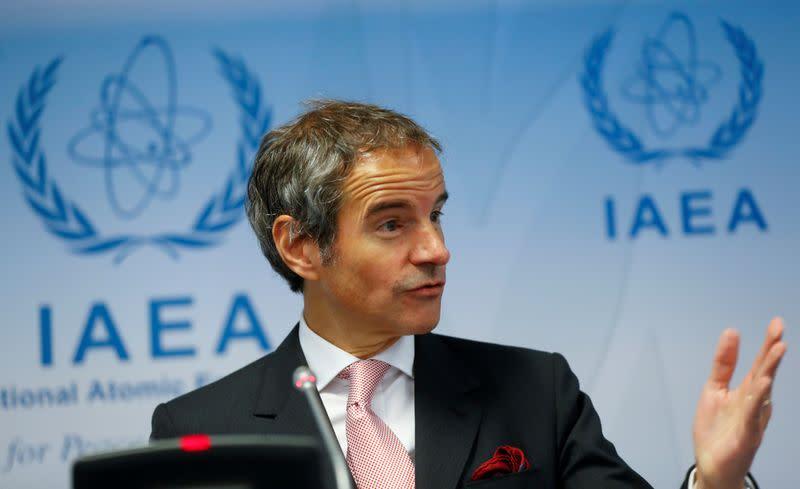 IAEA chief in Tehran, seeks access to Iranian nuclear sites