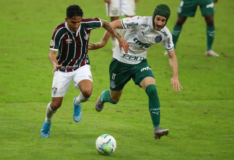 Fluminense come from behind to draw with Palmeiras