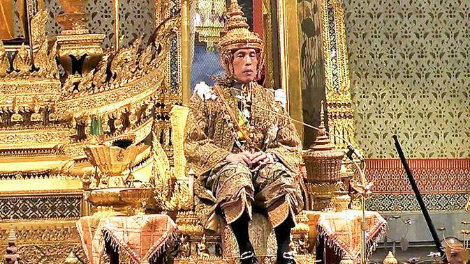 Raja Baru Thailand Maha Vajiralongkorn (AFP Photo)