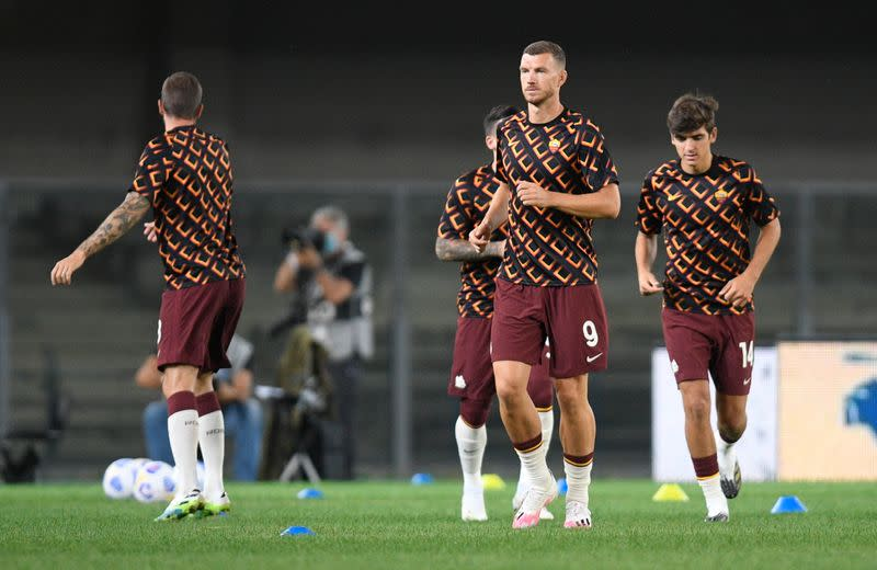 Dzeko left out for his own good says Fonseca amid transfer rumours