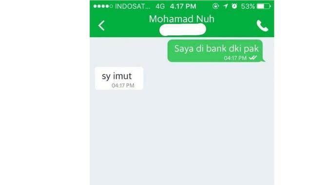 Chat Salah Ketik Ojek Online dan Penumpang (Sumber: Instagram/dramaojol.id