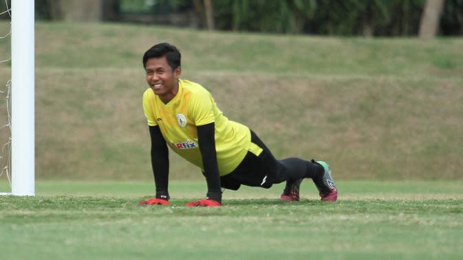 Kiper Muda PSS Sangat Berharap Shopee Liga 1 2020 Tidak Kembali Ditunda