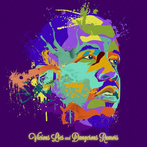 """This undated publicity photo provided by Island Def Jam Music Group shows the album cover of Big Boi's, """"Vicious Lies and Dangerous Rumors,"""" illustrated by Justin """"Jus 10"""" Huff. (AP Photo/Island Def Jam Music Group)"""