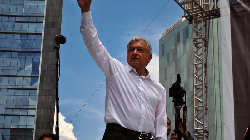 墨西哥總統歐布拉多(Andres Manuel Lopez Obrador)。(圖/翻攝自維基百科)