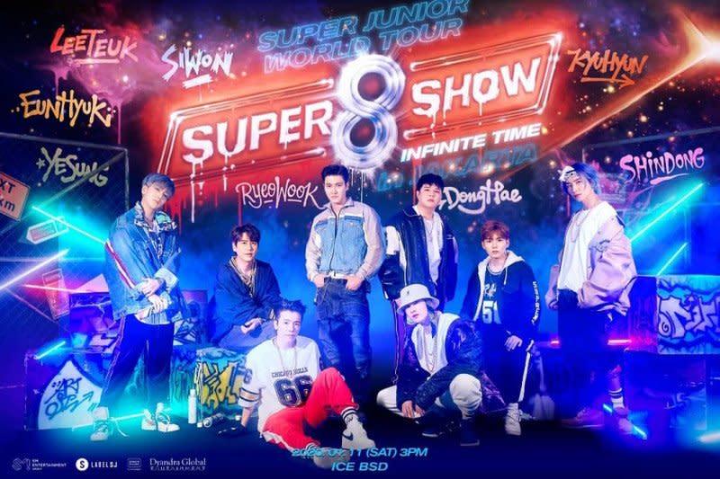 Super Junior ke Indonesia lagi awal tahun depan