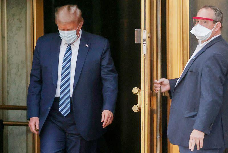 Trump calls off aid talks, Biden says president 'turned his back' on Americans