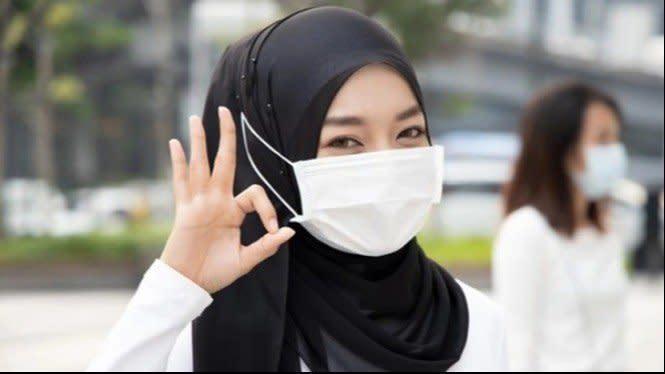 Survei Menunjukkan, 94 Persen Masyarakat Patuh Pakai Masker