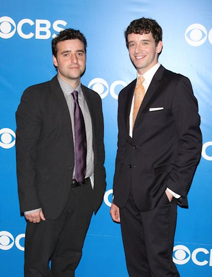 CBS Upfront 2012 - David Krumholtz and Michael Urie