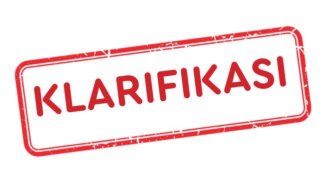 Banner Cek Fakta - Klarifikasi. (Liputan6.com/Triyasni)