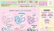 【Sanrio Gift Gate】即棄三層口罩 早鳥優惠(即日起至24/01)