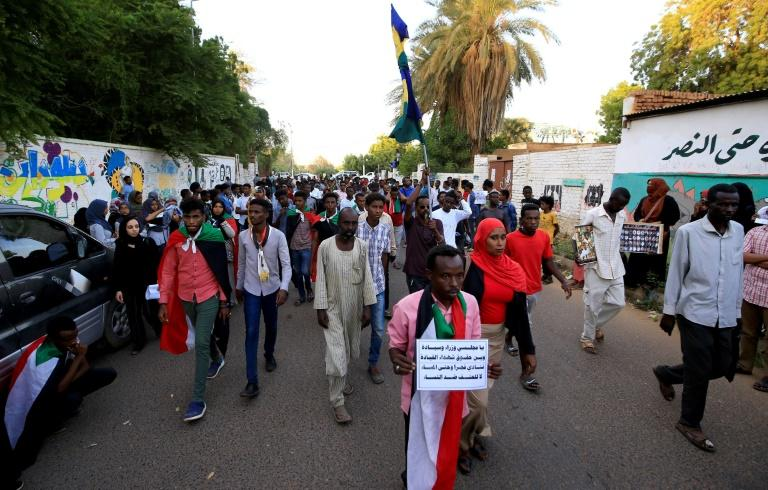 Sudanese protesters call upon authorities to deliver justice for those killed in demonstrations against now ousted autocrat Omar al-Bashir