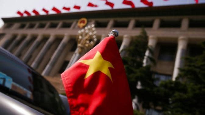 ilustrasi bendera Vietnam (AFP)