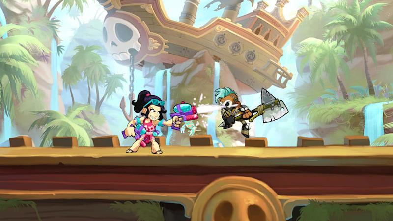 Free 2D fighting game Brawlhalla gets a mobile release, supports crossplay