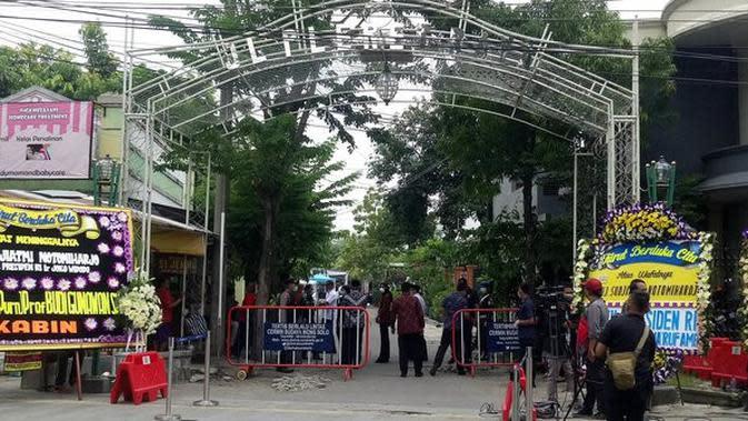 Para Menteri Diminta Tidak Ikut Melayat Credit: Merdeka.com/ArieSunaryo