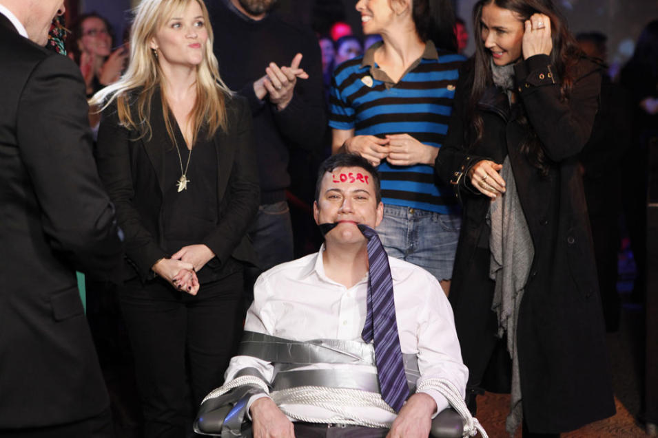 JIMMY KIMMEL LIVE - REESE WITHERSPOON, JIMMY KIMMEL, SARAH SILVERMAN, DEMI MOORE