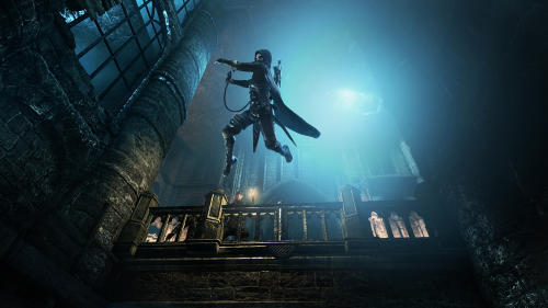 """This publicity photo provided by Square Enix shows a screenshot of a scene from the video game, """"Thief."""" (AP Photo/Square Enix)"""