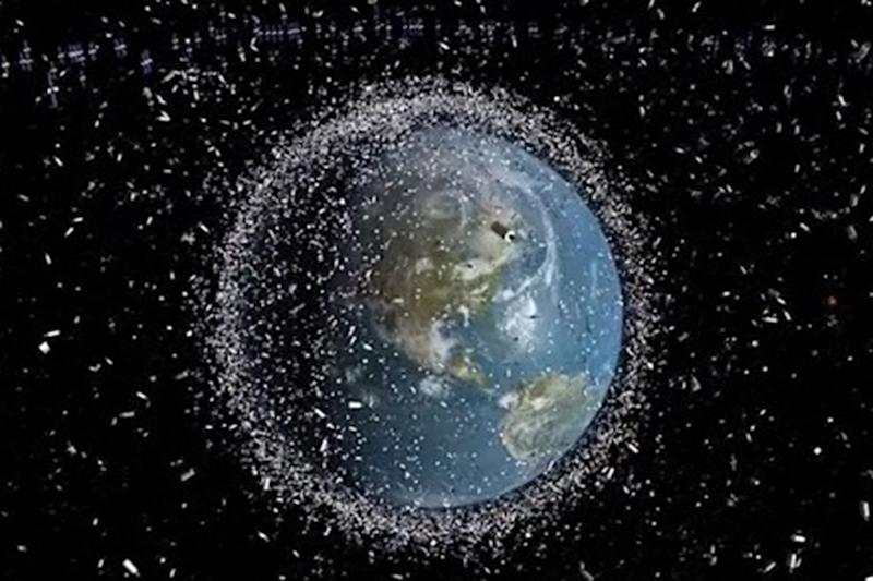 Small pieces of space debris could threaten satellites, astronomers warn
