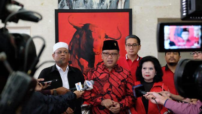 Sekretaris Jenderal PDIP Hasto Kristiyanto mengatakan partainya sangat berduka dan kehilangan atas meninggalnya Habib Sholeh. (Foto: Dok PDIP)
