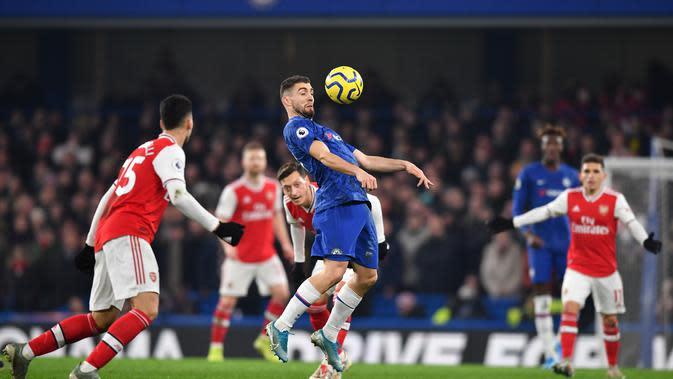 Gelandang Chelsea, Mateo Kovacic (BEN STANSALL / AFP)