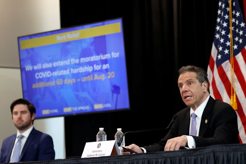 New York to test nursing home staff twice a week for COVID-19 - Cuomo
