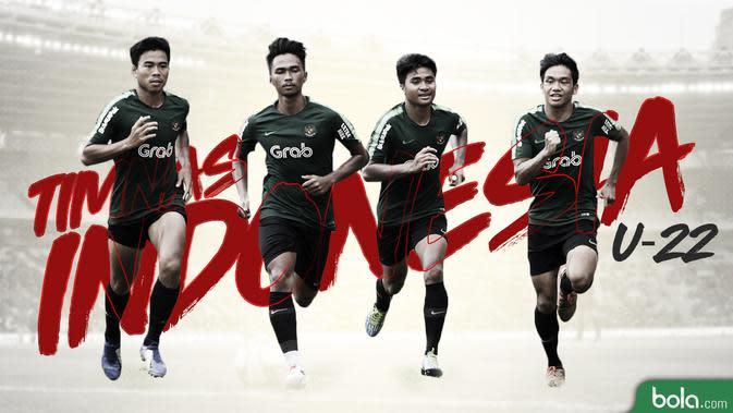 Timnas Indonesia U-22. (Bola.com/Dody Iryawan)