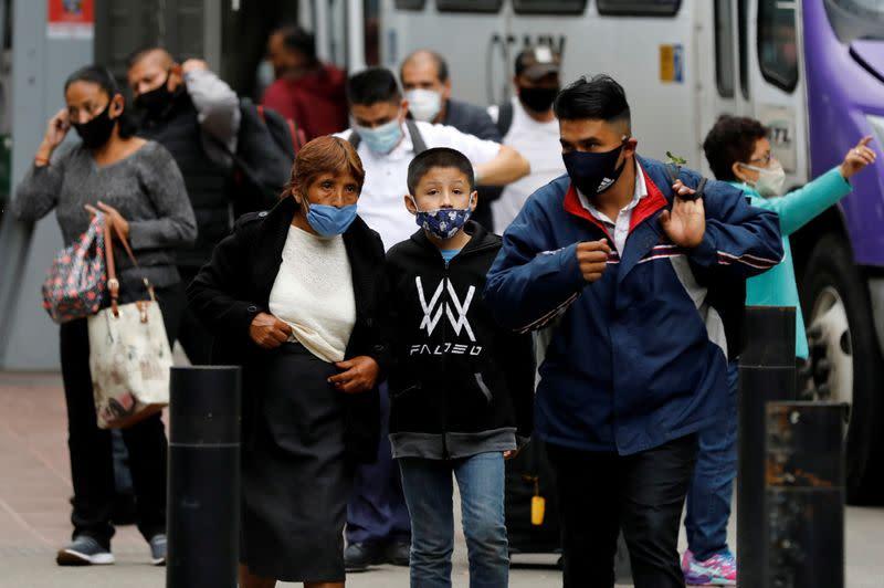 Coronavirus ravages Latin America's working class, Mexico deaths pass 75,000