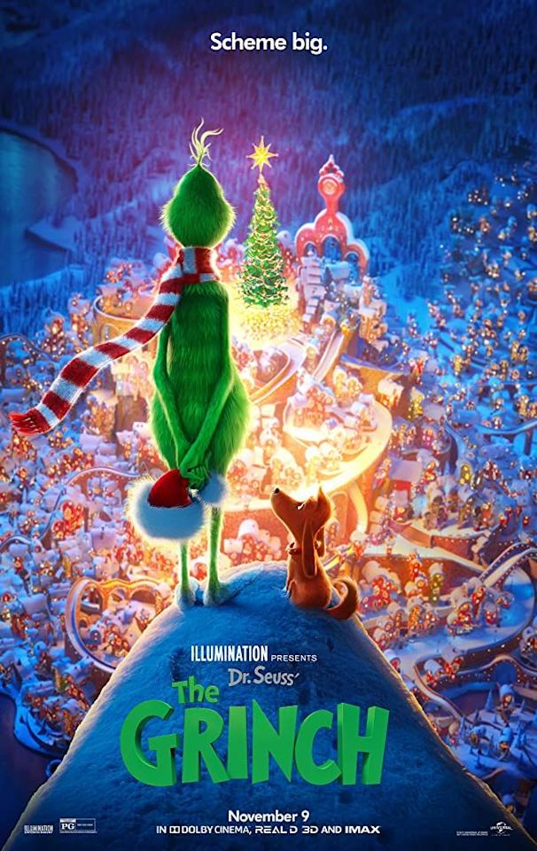 "<p>No list of Christmas movies is truly complete without this latest animated version of one of our favorite holiday stories — which has Benedict Cumberbatch taking on the role of our favorite holiday grump. </p><p><a class=""body-btn-link"" href=""https://www.amazon.com/Illumination-Presents-Dr-Seuss-Grinch/dp/B07K6Y4GF2/?tag=syn-yahoo-20&ascsubtag=%5Bartid%7C10055.g.1315%5Bsrc%7Cyahoo-us"" target=""_blank"">WATCH NOW</a></p>"