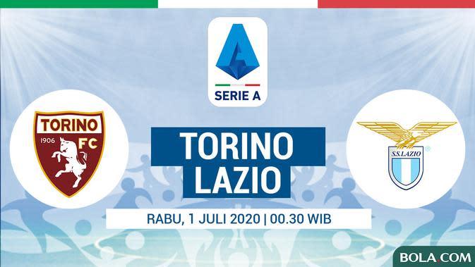Serie A - Torino Vs Lazio (Bola.com/Adreanus Titus)