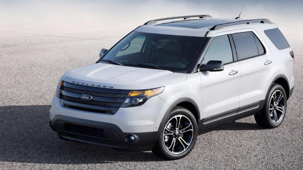 2013 Ford Explorer Sport bringing 350 hp, twin-turbo V6 to soccer practice