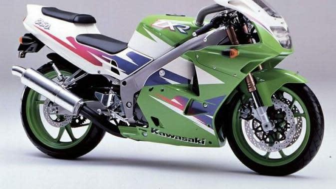 Kawasaki ZXR-250 era 1990-an (ist)