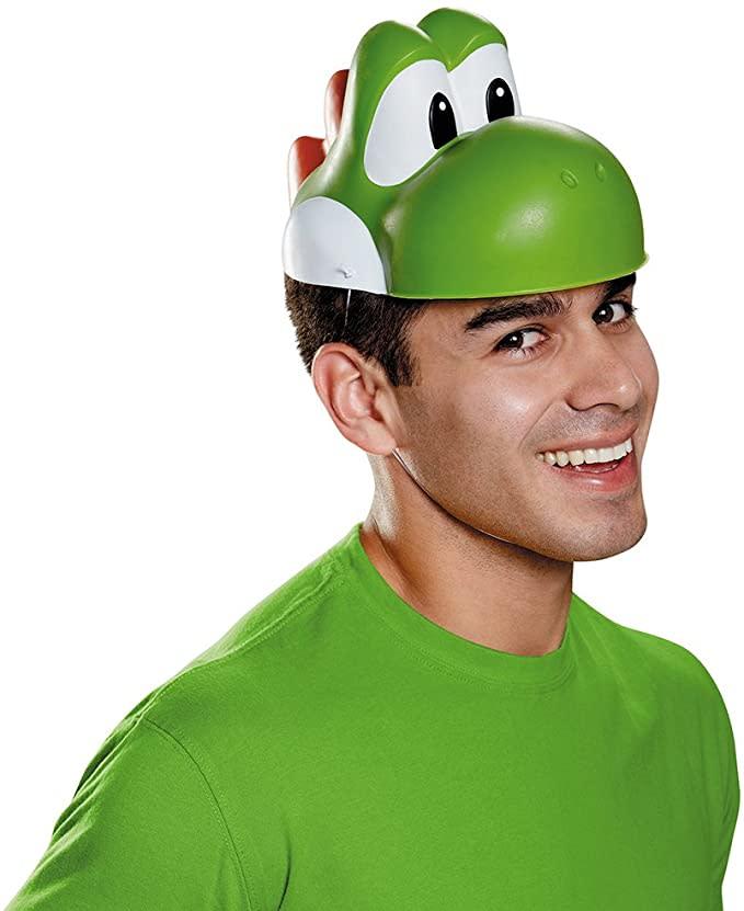 Disguise Costumes Men's Yoshi Mask. Image via Amazon.