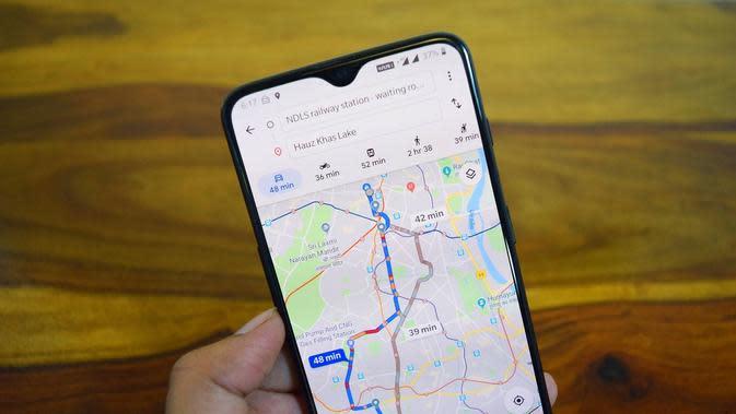 Akurasi Perkiraan Waktu Kedatangan di Google Maps di Jakarta Meningkat 22 Persen