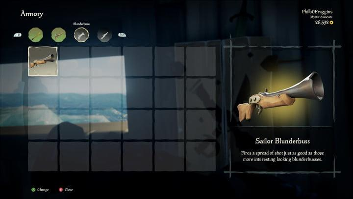 sea of thieves beginners guide choose your weapons