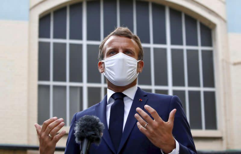 Presiden Prancis: Dunia memerlukan pemimpin AS yang aktif di tataran global