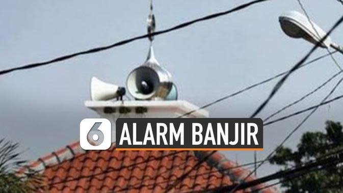 VIDEO: Toa Masjid Jadi Alternatif Peringatan Dini Banjir Jakarta