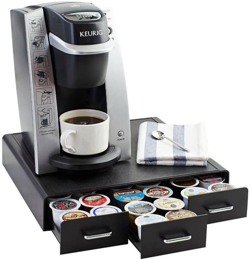 AmazonBasics Coffee Pod Storage Drawer. (Image via Amazon)