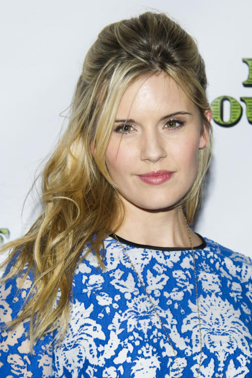 "FILE - This Nov. 29, 2012 file photo shows actress Maggie Grace at the opening night performance of the Broadway play ""Dead Accounts"" in New York. Grace stars in the Roundabout Theatre Company's play,""Picnic."" (Photo by Charles Sykes/Invision/AP)"