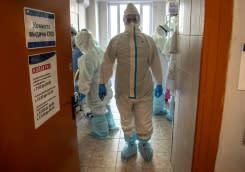 Tenaga medis Rusia pertanyakan bonus dari Putin terkait penanganan virus